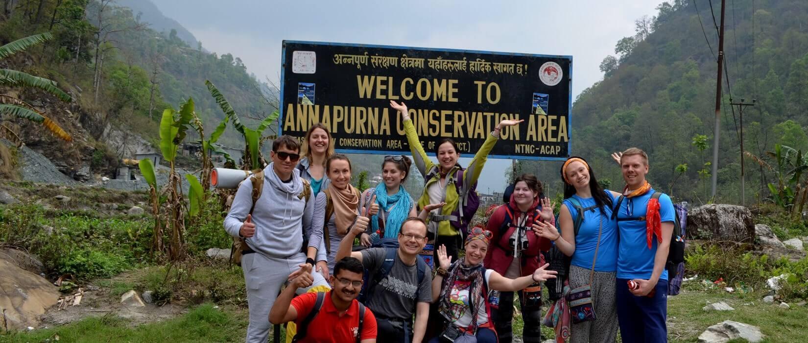 Amazing Annapurna Himalayas